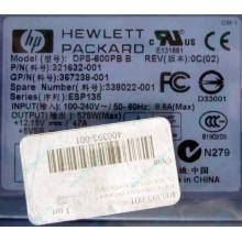 Блок питания 575W HP DPS-600PB B ESP135 406393-001 321632-001 367238-001 338022-001 (Электросталь)