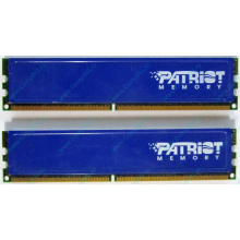 Память 1Gb (2x512Mb) DDR2 Patriot PSD251253381H pc4200 533MHz (Электросталь)